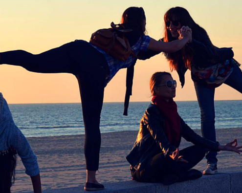 Yoga retreats fun