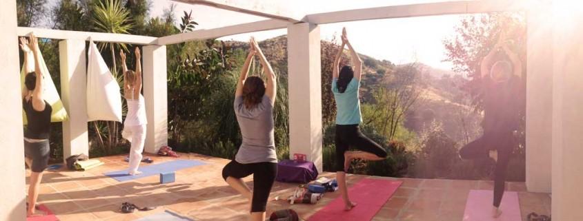 Yoga in hot temperatures